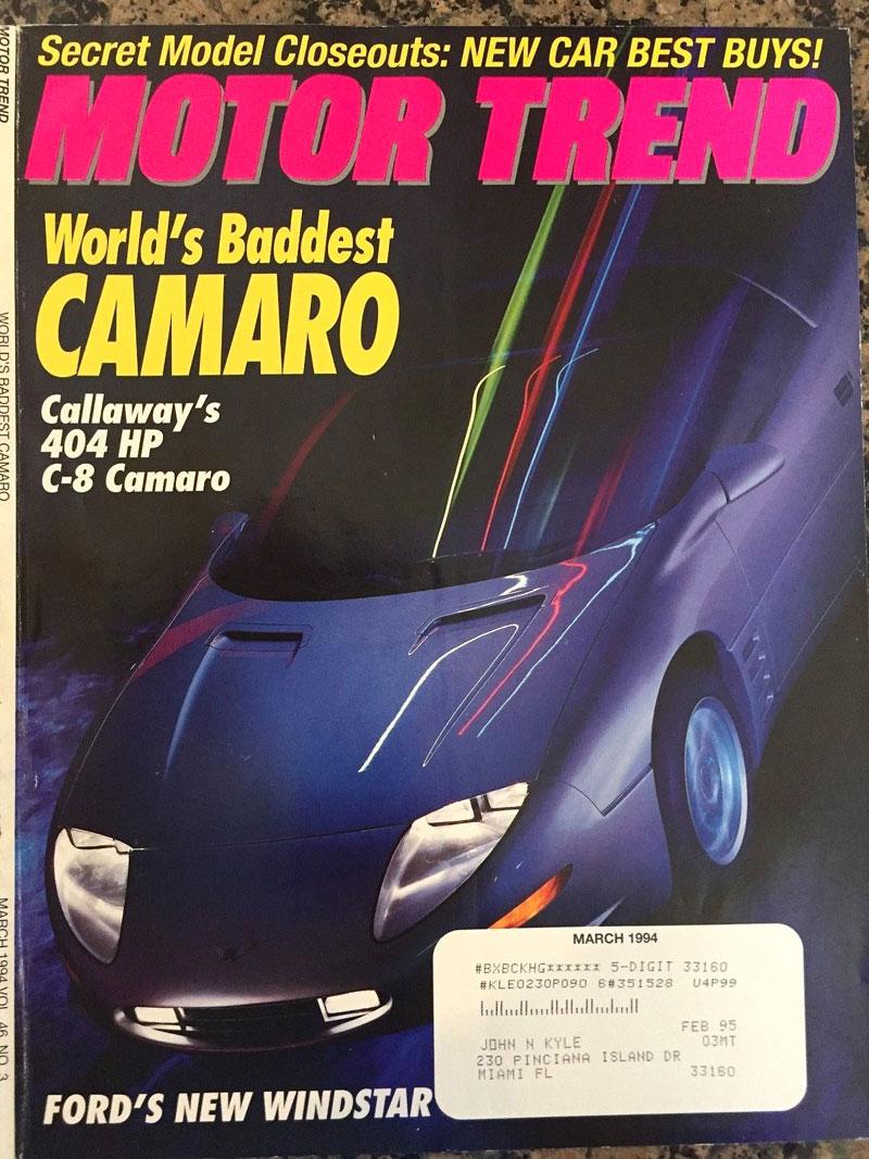 Jak se vám líbí tohle Camaro? Jedinečný prototyp od Callaway je na prodej: - fotka 24