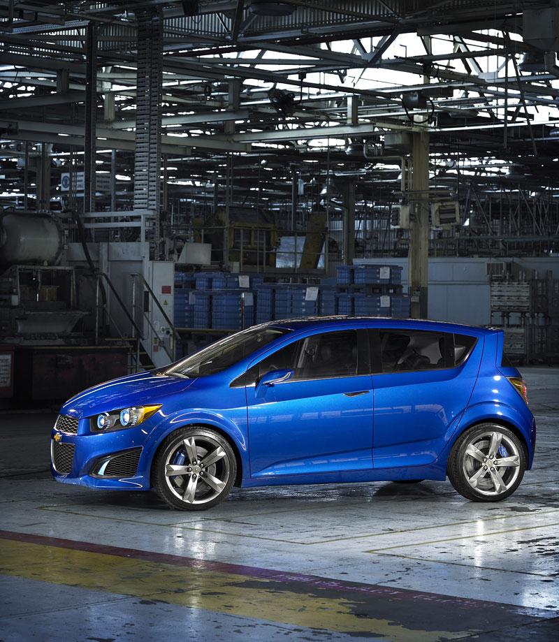 Chevrolet Aveo RS: zapomeňte na Daewoo!: - fotka 8
