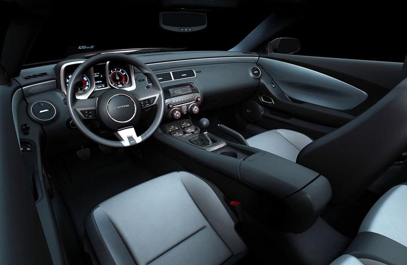 Ženeva 2010 živě: Chevrolet Camaro: - fotka 23