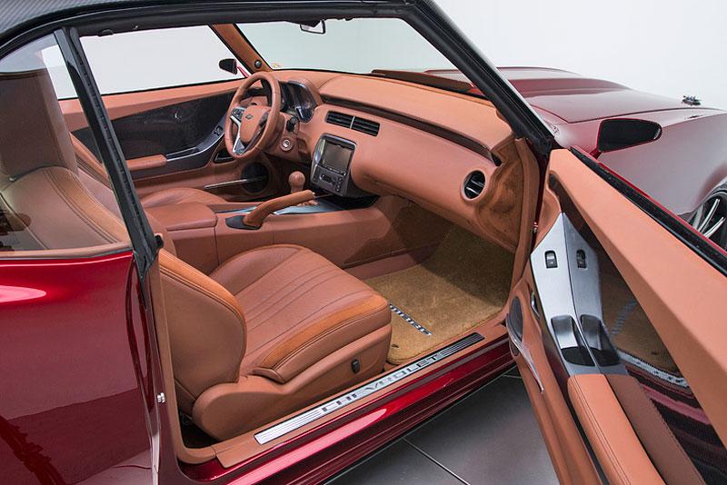 Extrémní 1967 Chevrolet Camaro má přes 630 koní: - fotka 9
