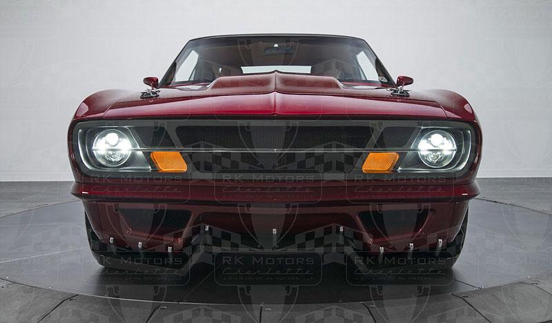 Extrémní 1967 Chevrolet Camaro má přes 630 koní: - fotka 15