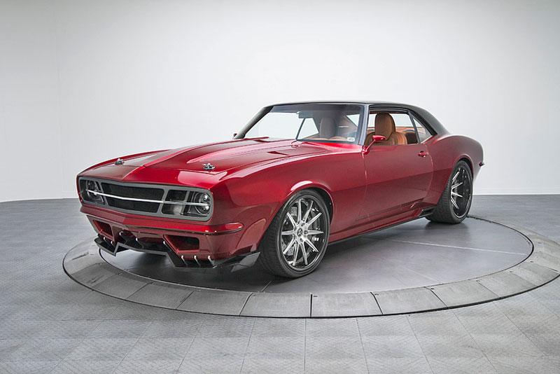 Extrémní 1967 Chevrolet Camaro má přes 630 koní: - fotka 17