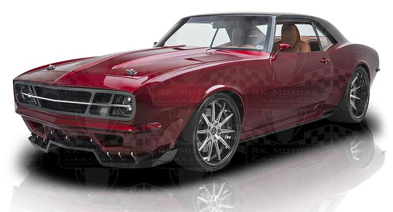 Extrémní 1967 Chevrolet Camaro má přes 630 koní: - fotka 19