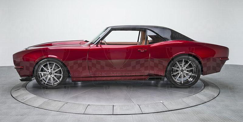 Extrémní 1967 Chevrolet Camaro má přes 630 koní: - fotka 20