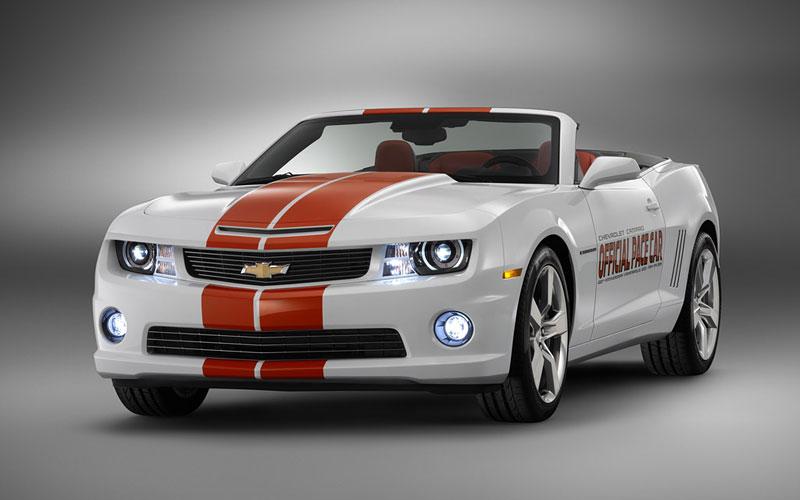 Chevrolet Camaro SS Convertible: Indy 500 má nový Pace Car: - fotka 2