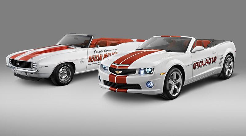 Chevrolet Camaro SS Convertible: Indy 500 má nový Pace Car: - fotka 3
