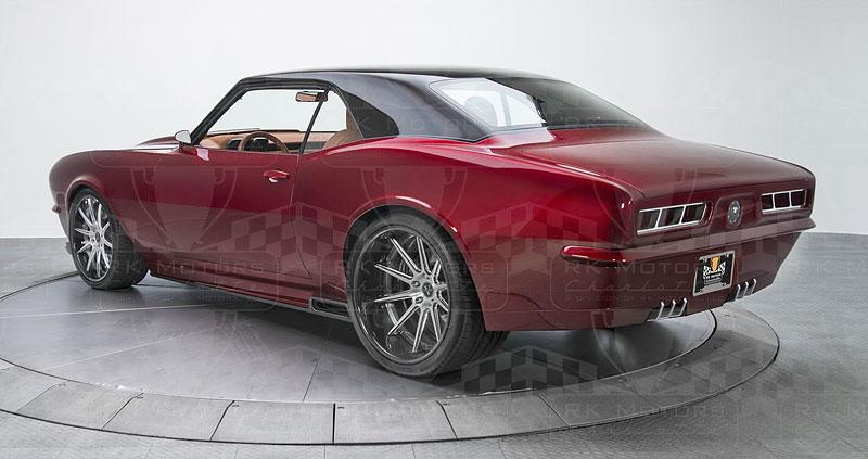 Extrémní 1967 Chevrolet Camaro má přes 630 koní: - fotka 22