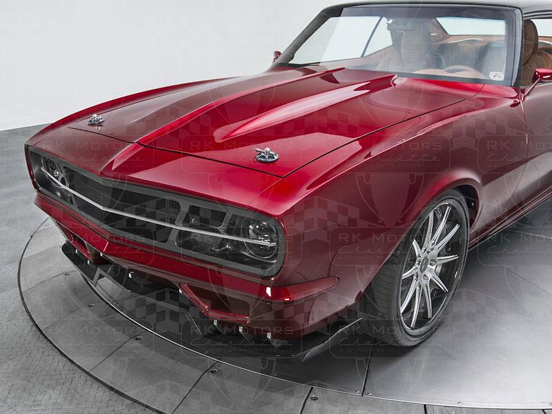 Extrémní 1967 Chevrolet Camaro má přes 630 koní: - fotka 29