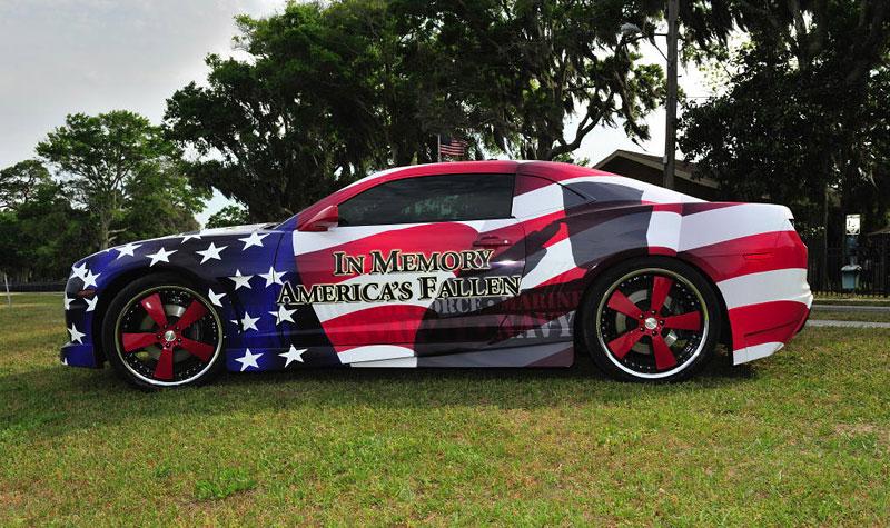 Chevrolet Camaro jako pocta padlým vojákům: - fotka 2