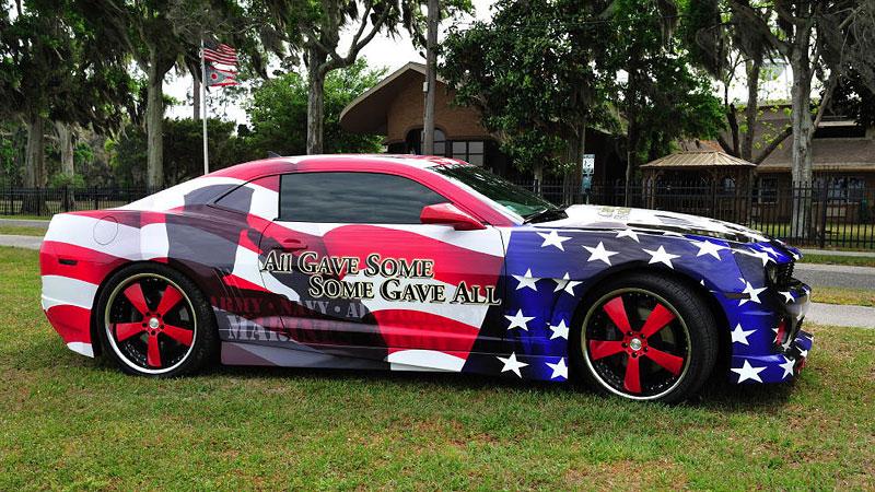 Chevrolet Camaro jako pocta padlým vojákům: - fotka 4