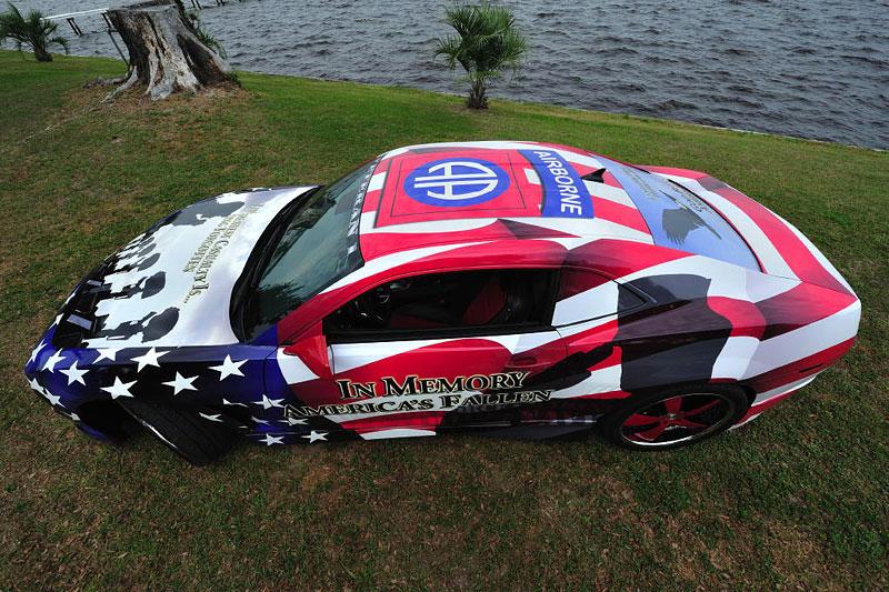 Chevrolet Camaro jako pocta padlým vojákům: - fotka 6