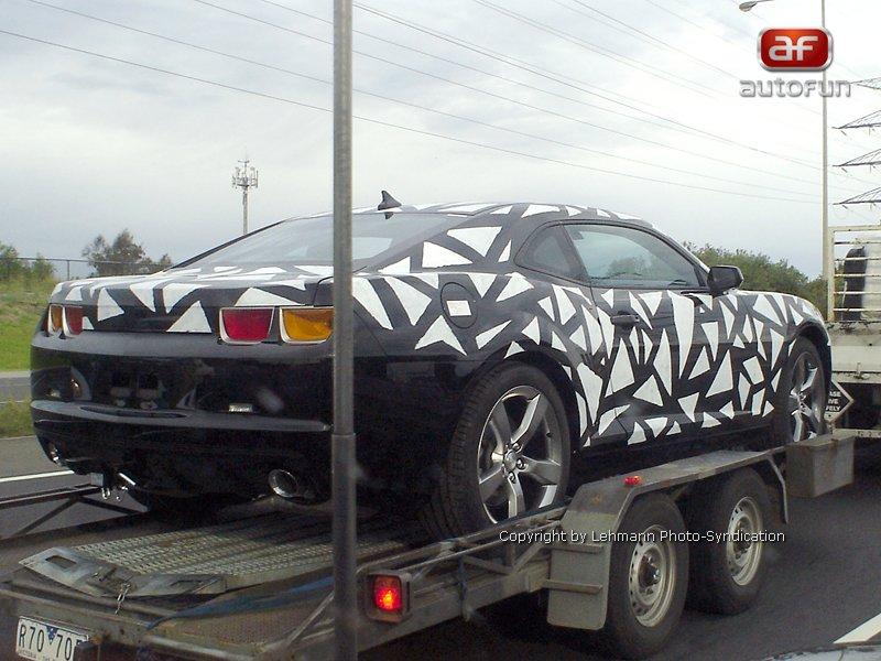 Spy Photos: Chevrolet Camaro přistižen v Austrálii: - fotka 1