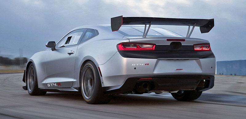 Chevrolet Camaro GT4.R: Závodní Gen Six pro okruhy s obřím křídlem: - fotka 2