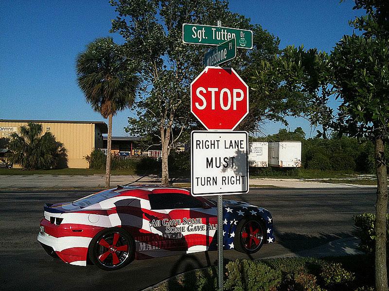 Chevrolet Camaro jako pocta padlým vojákům: - fotka 9
