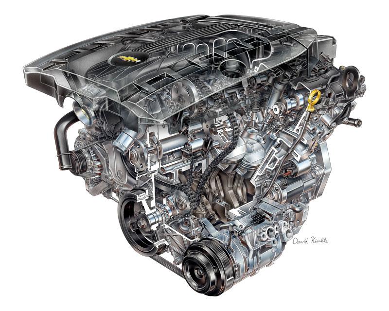 Chevrolet Camaro 45th Anniversary Edition: Modernizace a výroční model: - fotka 8