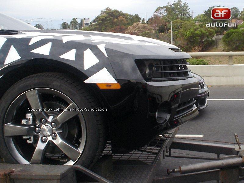 Spy Photos: Chevrolet Camaro přistižen v Austrálii: - fotka 3