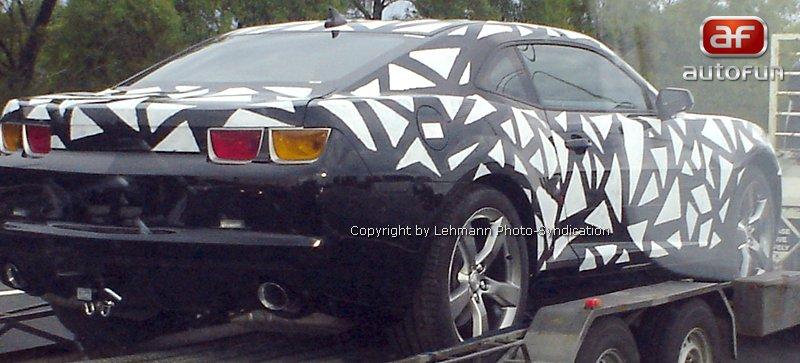 Spy Photos: Chevrolet Camaro přistižen v Austrálii: - fotka 4