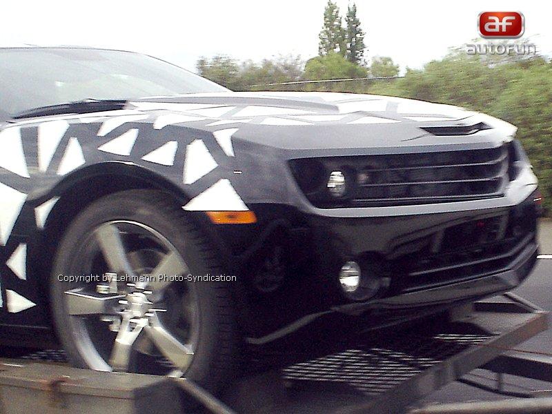 Spy Photos: Chevrolet Camaro přistižen v Austrálii: - fotka 5