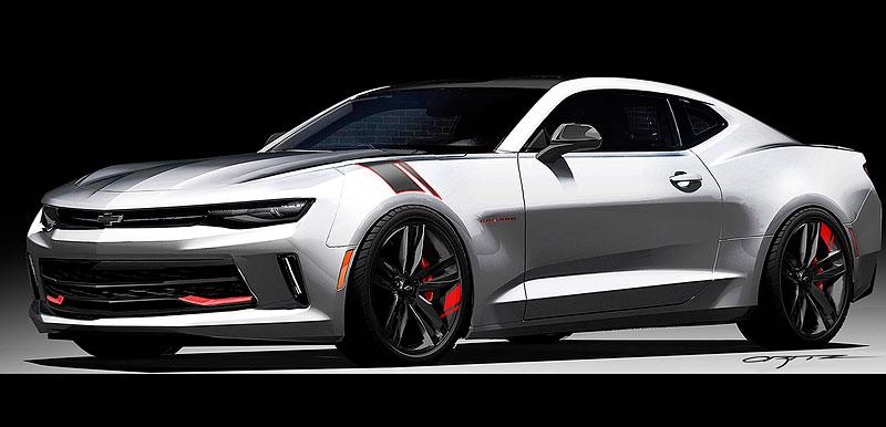 Chevrolet Camaro Red Line Series: Stříbrná je stále v kurzu: - fotka 6
