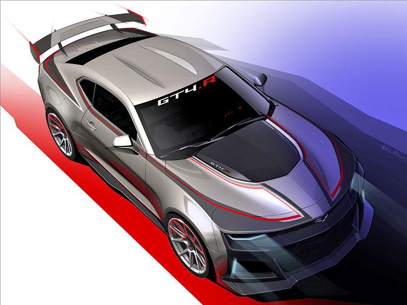 Chevrolet Camaro GT4.R: Závodní Gen Six pro okruhy s obřím křídlem: - fotka 3