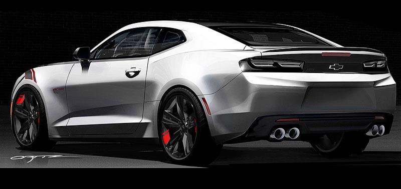 Chevrolet Camaro Red Line Series: Stříbrná je stále v kurzu: - fotka 7