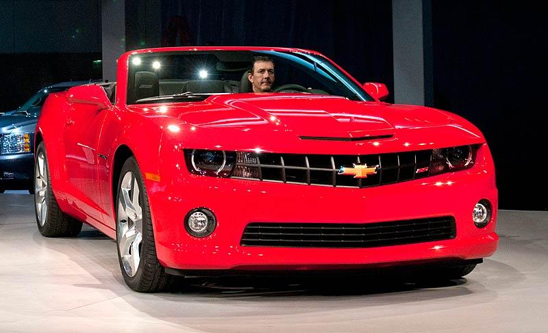 Ženeva 2011 živě: Chevrolet Camaro Convertible: - fotka 30