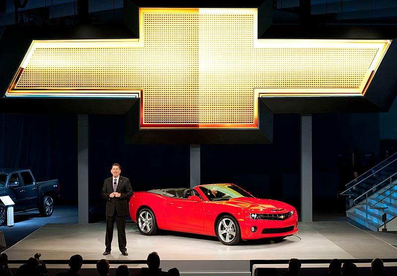 Ženeva 2011 živě: Chevrolet Camaro Convertible: - fotka 33