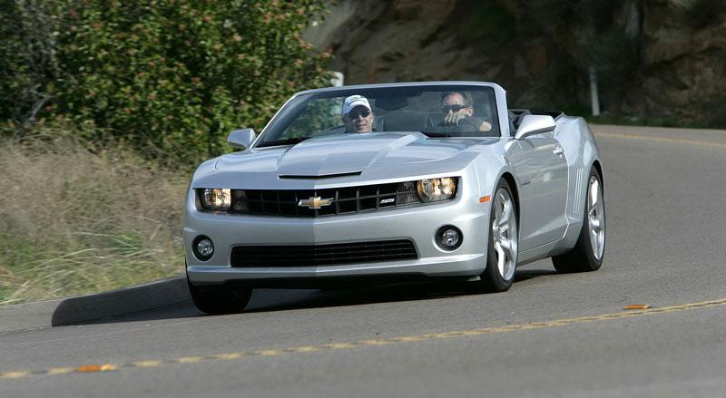 Ženeva 2011 živě: Chevrolet Camaro Convertible: - fotka 37