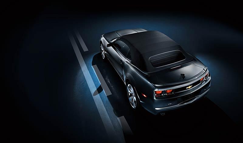Ženeva 2011 živě: Chevrolet Camaro Convertible: - fotka 42