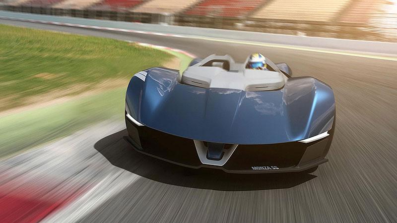 Chevrolet Monza SS: Designér oživuje známé jméno: - fotka 1