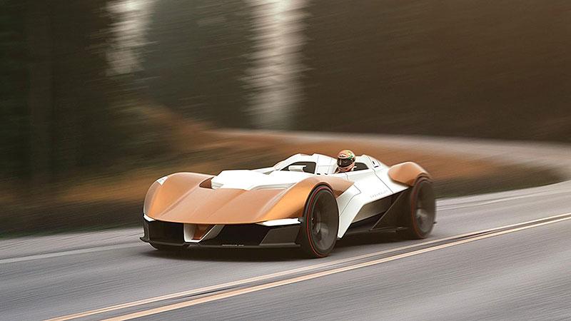 Chevrolet Monza SS: Designér oživuje známé jméno: - fotka 3