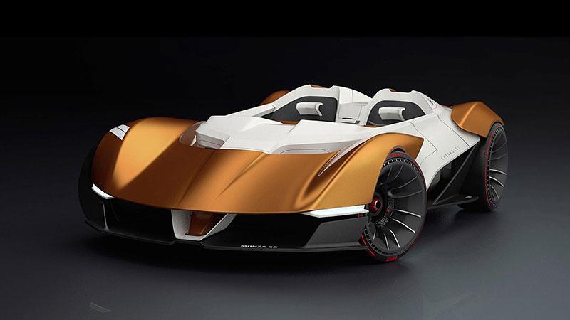 Chevrolet Monza SS: Designér oživuje známé jméno: - fotka 7