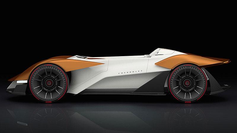Chevrolet Monza SS: Designér oživuje známé jméno: - fotka 8
