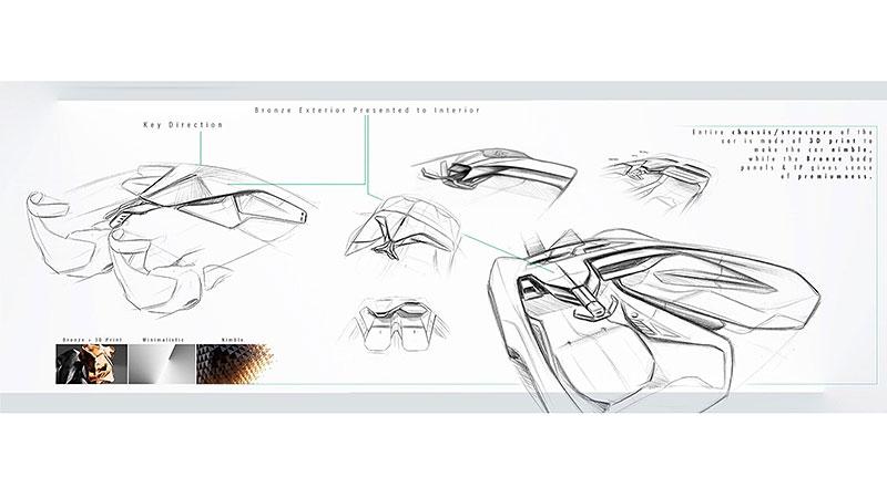 Chevrolet Monza SS: Designér oživuje známé jméno: - fotka 16