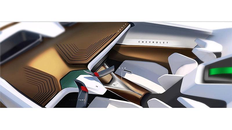 Chevrolet Monza SS: Designér oživuje známé jméno: - fotka 20