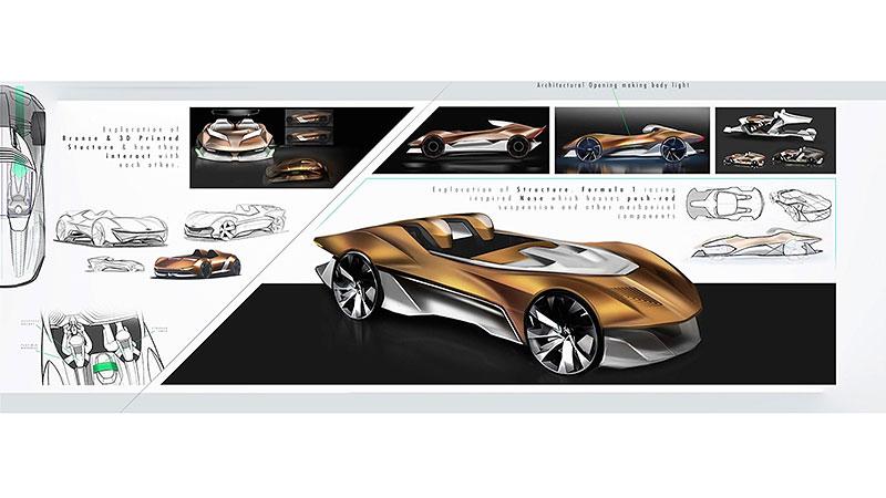 Chevrolet Monza SS: Designér oživuje známé jméno: - fotka 21