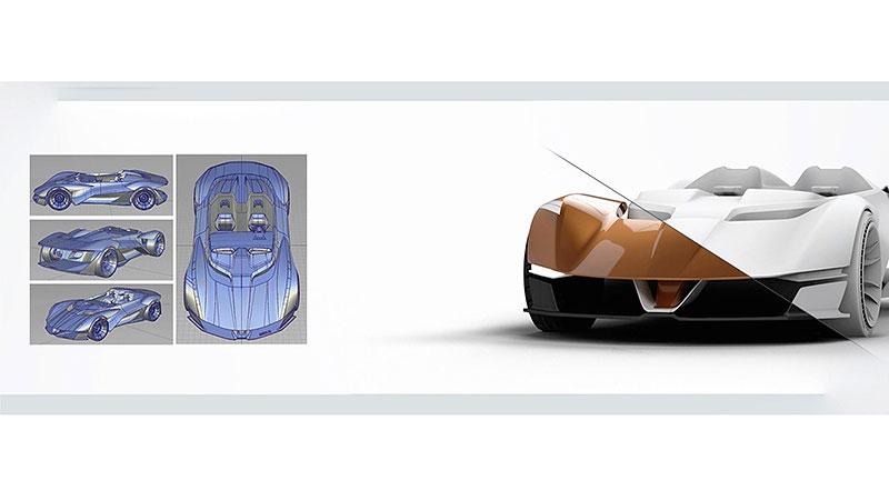 Chevrolet Monza SS: Designér oživuje známé jméno: - fotka 22