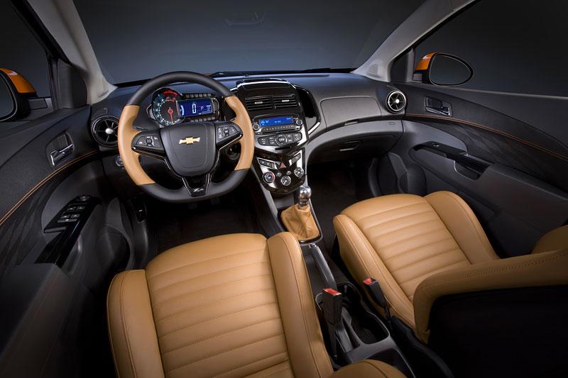 Detroit 2010: Chevrolet Sonic Z-Spec Concept: Aveo RS podruhé: - fotka 2