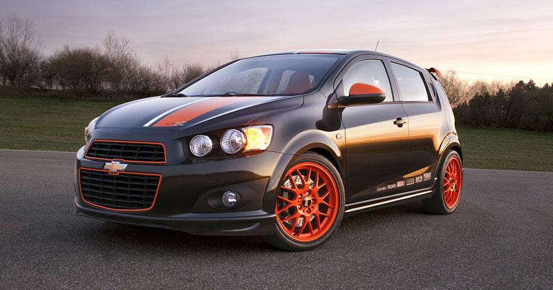 Detroit 2010: Chevrolet Sonic Z-Spec Concept: Aveo RS podruhé: - fotka 3