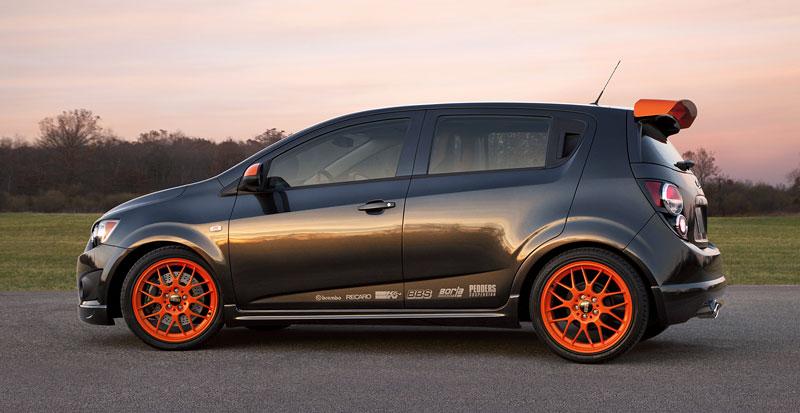 Detroit 2010: Chevrolet Sonic Z-Spec Concept: Aveo RS podruhé: - fotka 5