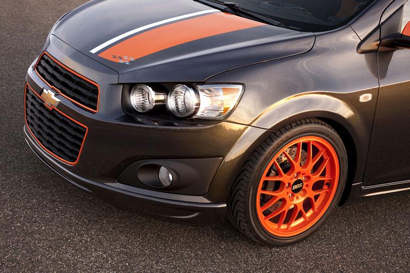 Detroit 2010: Chevrolet Sonic Z-Spec Concept: Aveo RS podruhé: - fotka 8