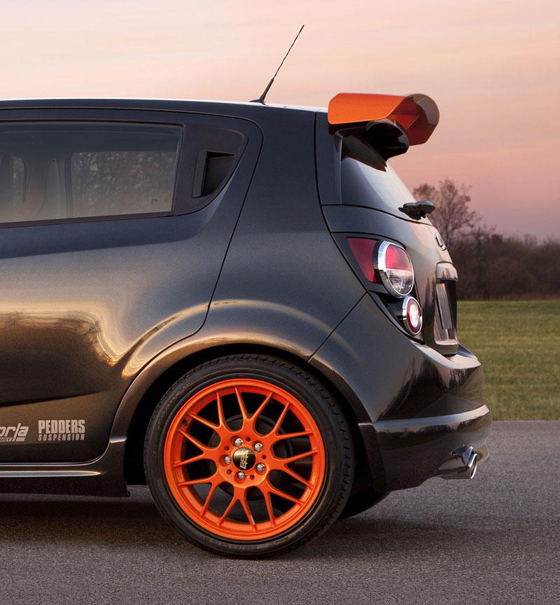Detroit 2010: Chevrolet Sonic Z-Spec Concept: Aveo RS podruhé: - fotka 9