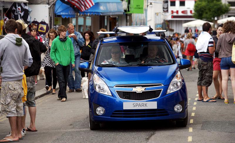 Chevrolet Spark Woody Wagon: koncept pro surfaře: - fotka 1