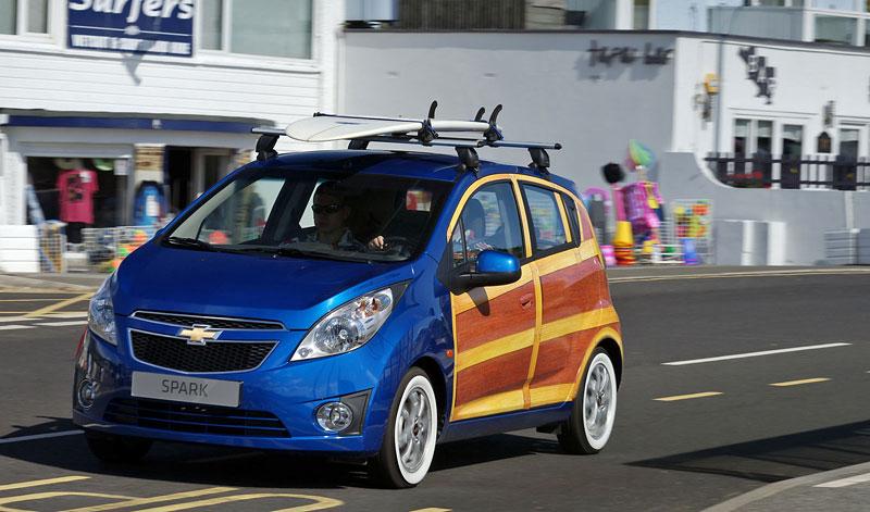 Chevrolet Spark Woody Wagon: koncept pro surfaře: - fotka 4