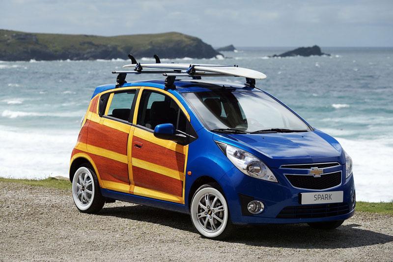 Chevrolet Spark Woody Wagon: koncept pro surfaře: - fotka 5