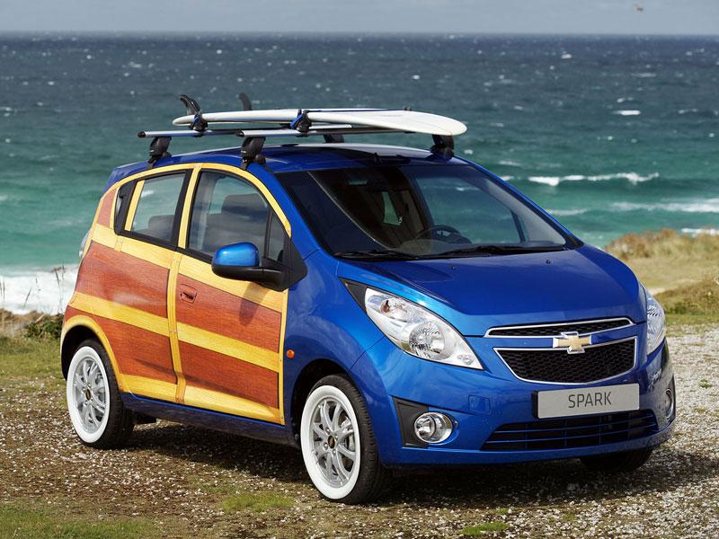 Chevrolet Spark Woody Wagon: koncept pro surfaře: - fotka 6