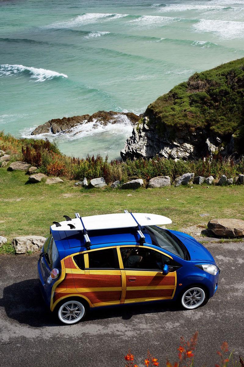 Chevrolet Spark Woody Wagon: koncept pro surfaře: - fotka 7