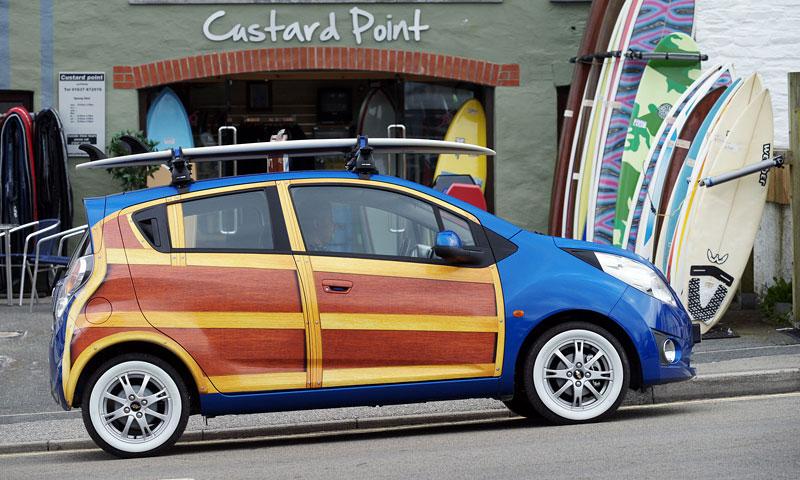 Chevrolet Spark Woody Wagon: koncept pro surfaře: - fotka 8
