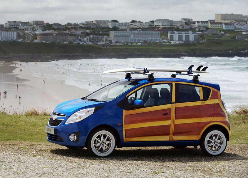 Chevrolet Spark Woody Wagon: koncept pro surfaře: - fotka 9