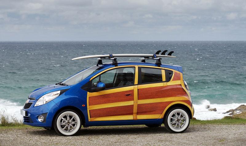 Chevrolet Spark Woody Wagon: koncept pro surfaře: - fotka 10
